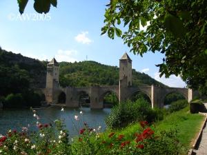 082 Cahors pont Vanlontré